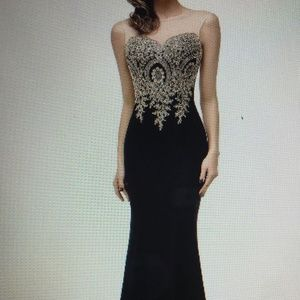 Full Length Formal Gown (Size 12 but was altered)